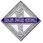 Origins Awards nominee sticker